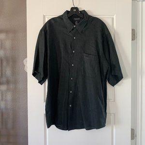 Claiborne 100% Pure Linen Button Down Shirt